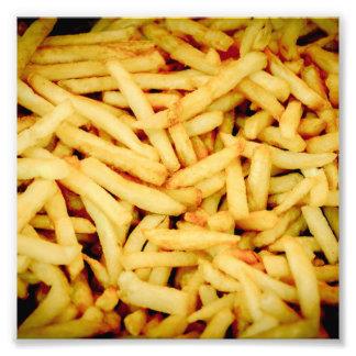 Patatas fritas fotografía