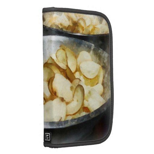 Patatas fritas frescas planificadores