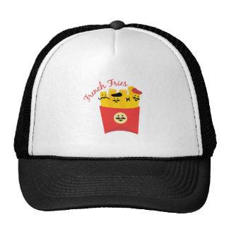 Patatas fritas gorras de camionero