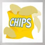 patatas fritas impresiones
