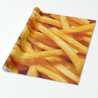 Patatas fritas papel de regalo