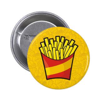 Patatas fritas pin redondo 5 cm