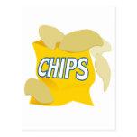 patatas fritas postales