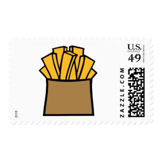 Patatas fritas sellos