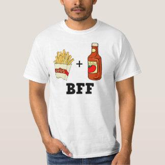 Patatas fritas y salsa de tomate BFF Poleras