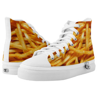 Patatas fritas zapatillas