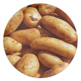 patatas plato para fiesta
