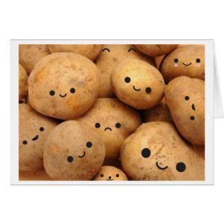 Patatas Tarjeta Pequeña