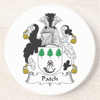 Patch Family Crest Drink Coaster