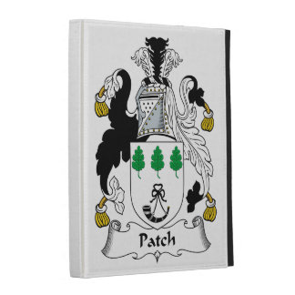 Patch Family Crest iPad Folio Cover