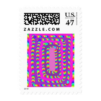 Patch of Candy Postage Stamps