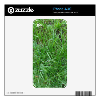 Patch of Grass Skins For The iPhone 4S