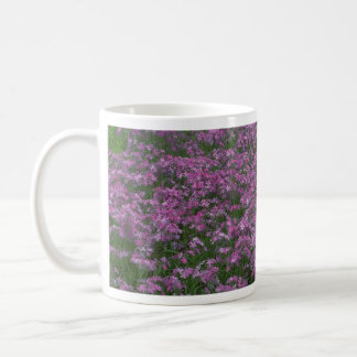 Patch of wild vorbenia in East Texas Classic White Coffee Mug