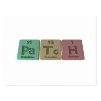 Patch-Pa-Tc-H-Protactinium-Technetium-Hydrogen.png Postcard