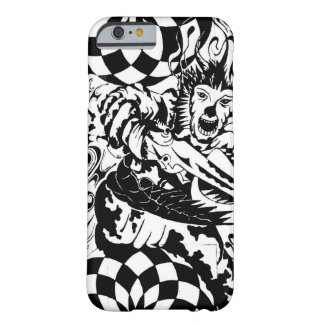 patched black n white iphone 6 case