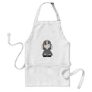 Patched Gothic Princess Adult Apron