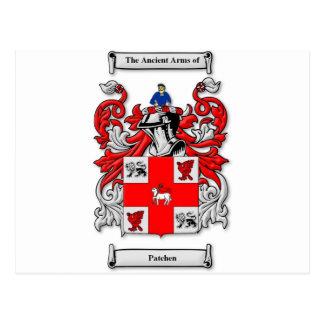 Patchen Coat of Arms Postcard