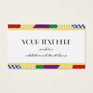 Patches Business Card