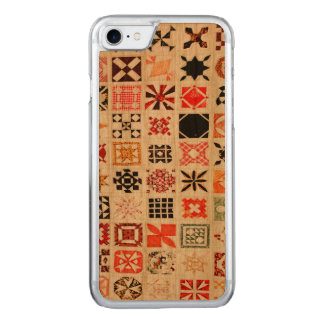 Patches & Pattern Carved iPhone 8/7 Case
