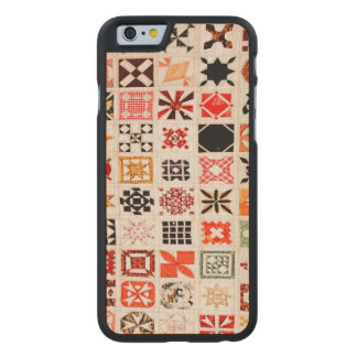 Patches & Pattern Carved® Maple iPhone 6 Case