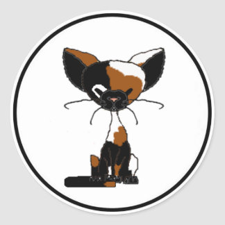 Patches the Cat Sticker (Meet the Mews)