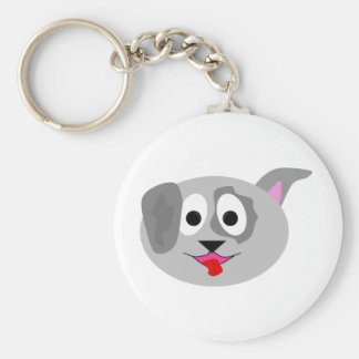 Patches the Puppy Keychain