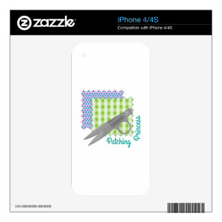 Patching Princess Skins For iPhone 4S