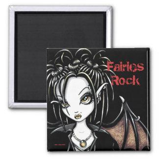 """Patchouli"" Gothic Fairy Magnet"