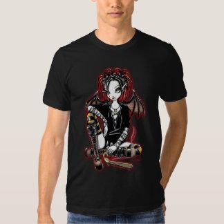 """""""Patchouli"""" Gothic Incense Fairy Art Top T Shirt"""