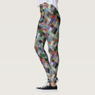 PATCHWORK-10-D LEGGINGS