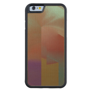 Patchwork Abstract Carved® Maple iPhone 6 Bumper Case