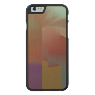 Patchwork Abstract Carved® Maple iPhone 6 Case