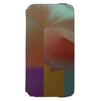 Patchwork Abstract iPhone 6/6s Wallet Case