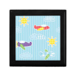 Patchwork Airplanes Gift Box