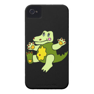 Patchwork Aligator iPhone 4 Cover