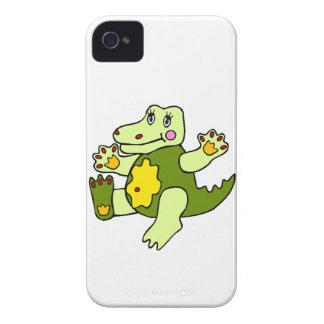 Patchwork Aligator iPhone 4 Case-Mate Case