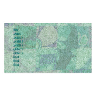 Patchwork Background Standard Business Card