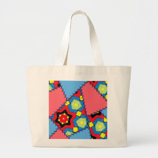 Patchwork Bag bright primary colors