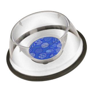 patchwork balls,blue pet bowl