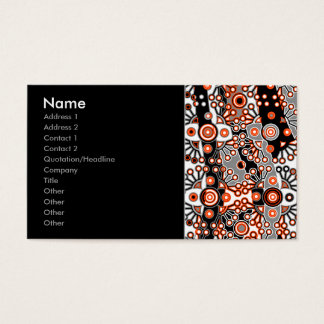 patchwork business card