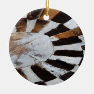 Patchwork Ceramic Ornament