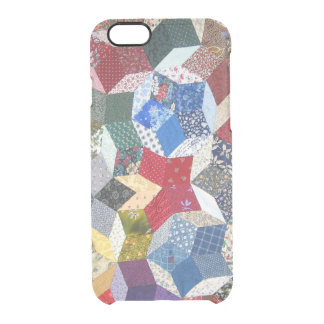 Patchwork Clear iPhone 6/6S Case