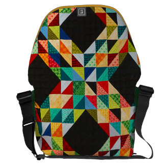 Patchwork Courier Bag