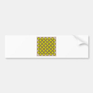 Patchwork Design 7 Bumper Sticker
