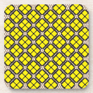 Patchwork Design 7 Coasters