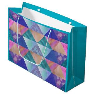 Patchwork Design Gift Bags Large Gift Bag