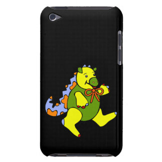 Patchwork Dinosaur Barely There iPod Cases