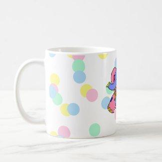 Patchwork Elephant mug
