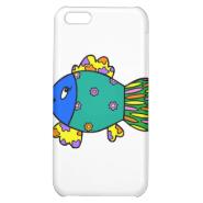 Patchwork Fish iPhone 5C Case