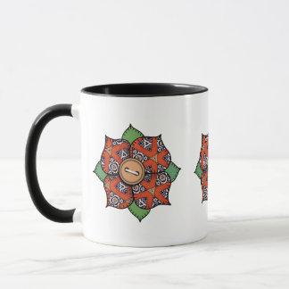 Patchwork Flower - 017 Mug